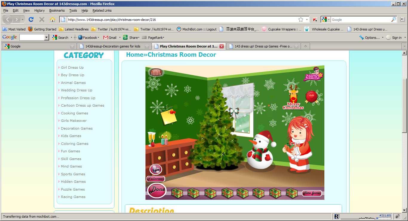 Christmas room decor decoration for Xmas room decor games