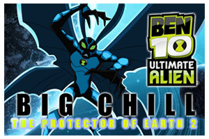play Ben 10 Alien Force : Big Chill The Protector Of Ea