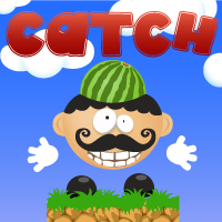 play Catch Watermelon