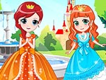 play Royal Three Sisters Dress Up