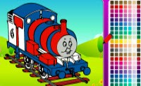 play Coloring Thomas The Train