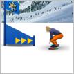 play Snowboard Slalom