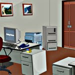 play Room Escape - Office Cabin