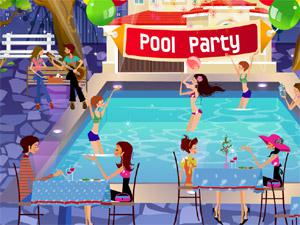 play Pool Party Decor