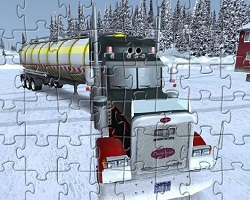 play Extreme Truckers Puzzle