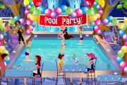 play Decoration For Summer Pool Party