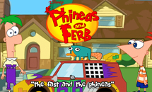 phineas and ferb games racing
