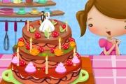 play Lovely Birthday Cake Decoration