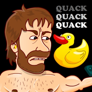play Break Chuck Norris With A Rubber Duck