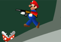 Mario Shooting Enemies