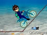 play Ben 10 Motocross Under The Sea