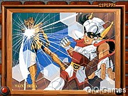 play Sort My Tiles Saint Seiya