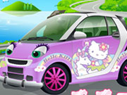 play Hello Kitty Car