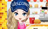 play Fast Food Cutie Dress Up