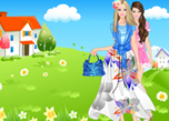 play Summertime Barbie Dress Up