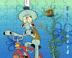 play Squidward Tentacles Jigsaw