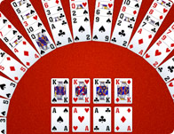 play Open Crescent Solitaire
