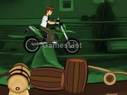 play Ben10 Bike Riding