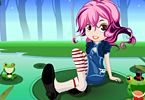 play Wonder Girl Dress Up