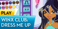 play Winx Club- Dress Me Up