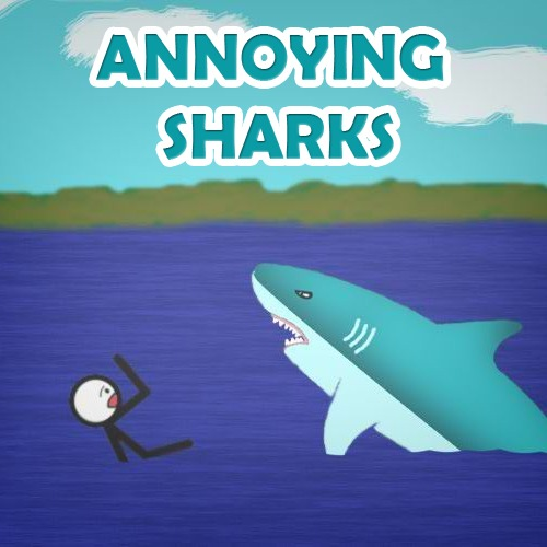 play Annoying Sharks