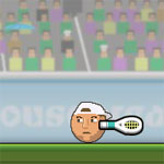 play Sports Heads -Tennis
