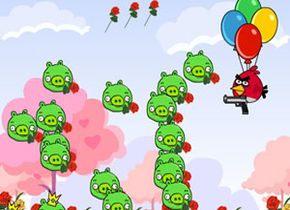 Angry Birds Rose Defender
