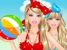 play Barbie At The Beach
