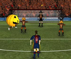 play Messis Halloween Shootout