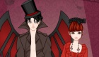 play Vampire Couple Dress Up