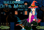 play Halloween Devil Model Dress Up