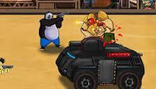 play Super Panda Hero Hacked