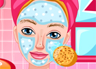 play Princess Barbie Facial Spa