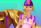 play Barbie Goes Horse Riding