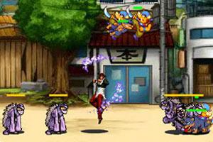 play Kof Iori Fighting