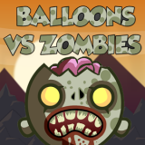 balloons vs zombies arcade