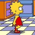 play Lisa Simpson Saw Game