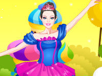 play Barbie Ballerina Dress Up