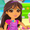 play Dora Party Clean Up