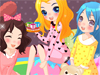 play Slumber Party Dress Up