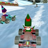 play Chistmas Elf Race 3D