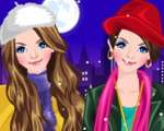play Stylish Twin Sisters