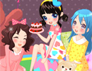 play Pijamas Party Dress Up