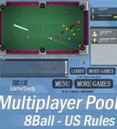 play Multiplayer 8Ball Pool