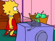 play Lisa Simpson Saw