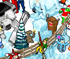 Frozen Pixel Hunt game