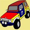 play 4X4 Car Coloring