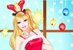 play Christmas Princess Dress Up
