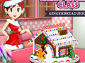 play Sara'S Cooking Class: Gingerbread House