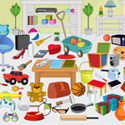 play Messy Room Objects